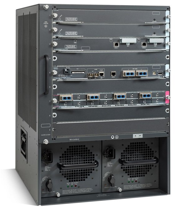 Imagine 1Cisco WS-C6509-E=
