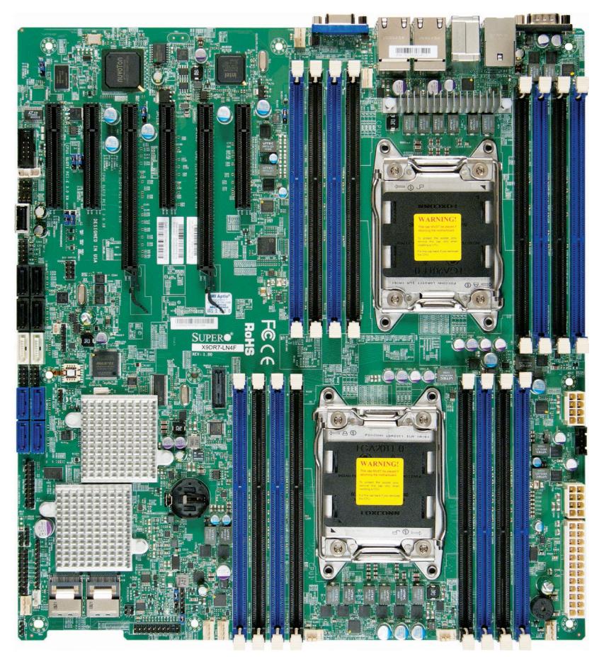 Imagine 1Supermicro MBD-X9DR7-LN4F-O