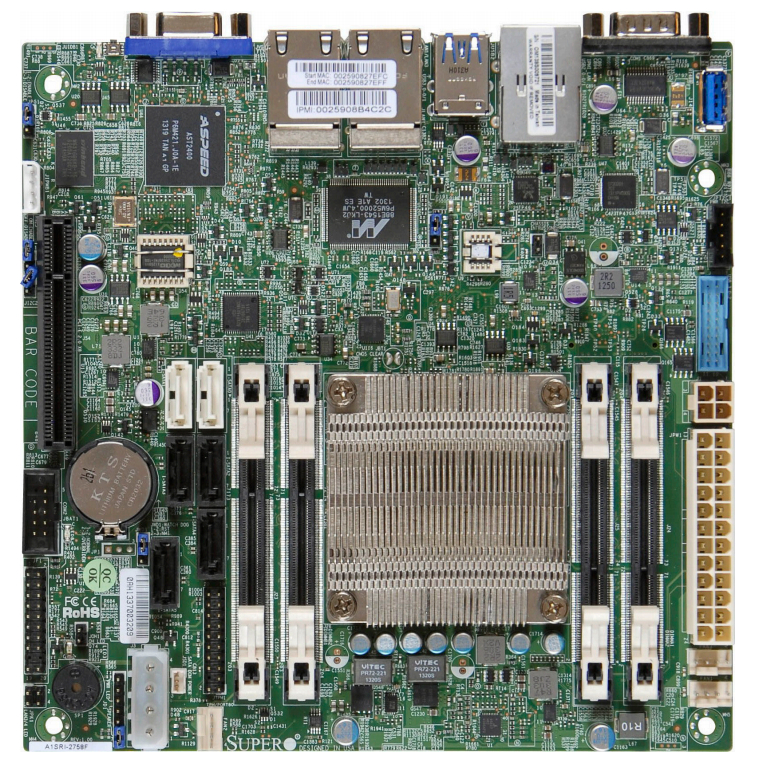 Imagine 1Supermicro MBD-A1SRI-2758F-O