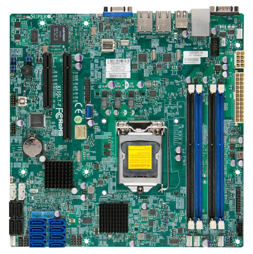 Imagine 1Supermicro MBD-X10SL7-F-O