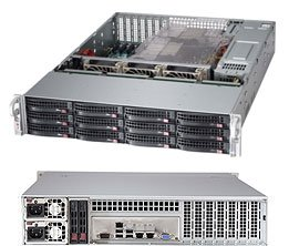 Imagine 1Supermicro SSG-6027R-E1R12T
