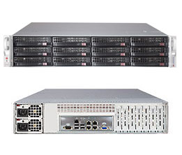 Imagine 1Supermicro SSG-6027R-E1R12L