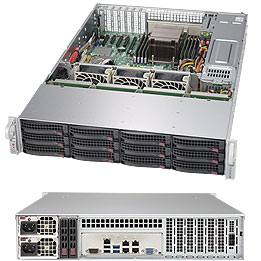 Imagine 1Supermicro SSG-6028R-E1CR12H