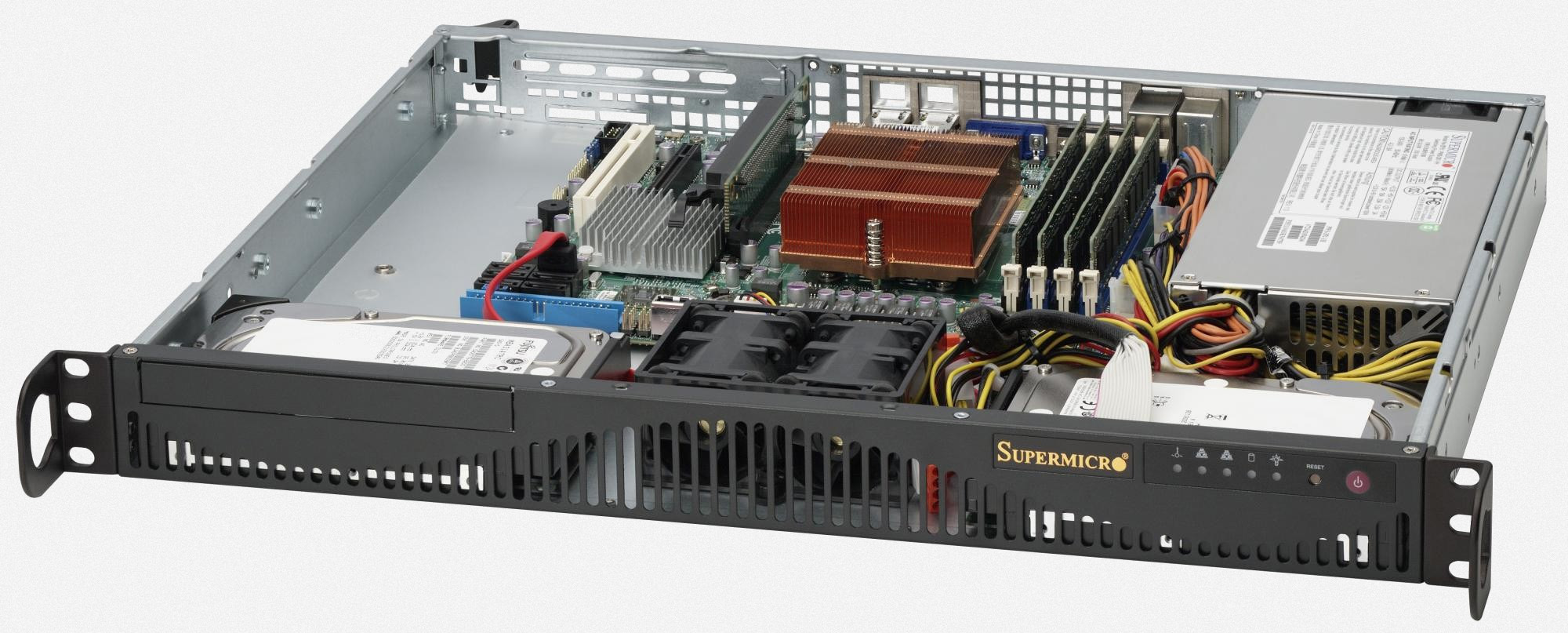 Imagine 1Supermicro CSE-512F-350B