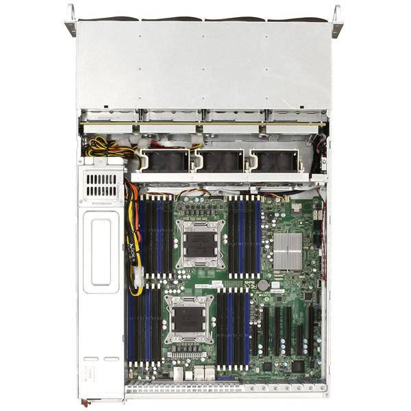 Imagine 2Supermicro Server CSE-826 2x 10C Xeon E5-2690