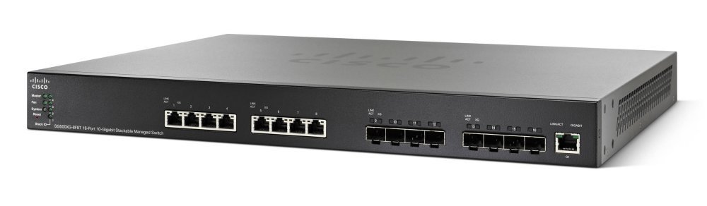 Imagine 1Cisco SG550XG-8F8T-K9-EU