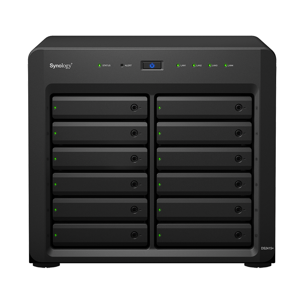 Imagine 1Synology DS2415+/WD6002FFWX