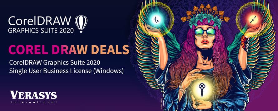 CorelDRAW 2020 Graphic Suite la pret promotional