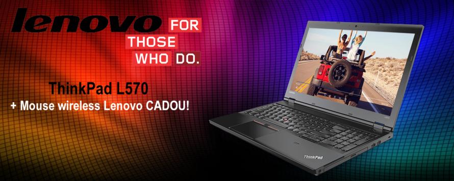 Lenovo ThinkPad L570 la pret special!