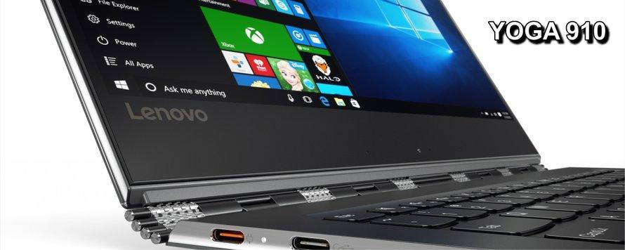 Lenovo Yoga 910 la un pret avantajos !