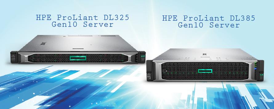 DL325 & DL385 Gen10 - noile servere HPE cu procesoare AMD